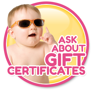 ask about our gift certificates